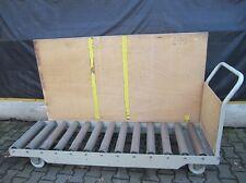 Rollenbahn Rollbahn Geradebahn Fahrbar auf Rollen Transportwagen 65x200cm #0415