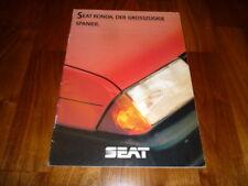 Seat Ronda Prospekt 09/1983
