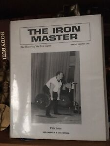 Powerlifting Bodybuilding The Ironmaster #7 Paul Anderson Doug Hepburn