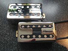 Warman Retro Rockers. Alnico humbucking guitar pickups, matched pair