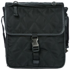 PRADA Men s Nylon Cross-body Messenger Shoulder Bag Black Ee0 869fbd01cc442