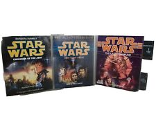 3 Star Wars Audio cassette tape Heir to the Empire, The Last Command, Child Jedi