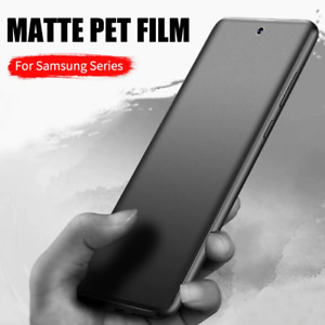 Matte Hydrogel Film Screen Protector For Samsung Galaxy S21 S20 Ultra Note 20 S9