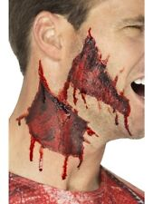 Halloween Peeled Face Make Up Transfer Smiffys Fantastic Horror Party Accessory