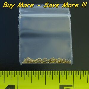 .100 Gram Alaskan Placer Gold Dust Fines Natural Raw Nugget Flake Bering Alaska