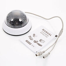1000TVL HD Color Home Dome Surveillance CCTV Security Camera Video IR Day Night