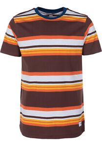 Ezekiel Men's S/S T-Shirt LOUIE - CHOC - XLarge - NWT