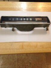 Datsun 510 1969 OEM SPEEDOMETER  HOUSING W/ INDICATOR  TURN ARROWS
