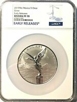 2019 5oz. Silver Libertad Reverse - a KEY COIN for 2019 - NGC PF70 Early Release