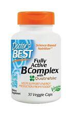 DOCTOR'S BEST, FULLY ACTIVE B COMPLEX 30 VKaps. !!! EXTRAPREIS !!!