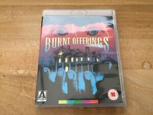 BURNT OFFERINGS / BLU RAY + DVD / ARROW VIDEO / UK REGION B/2 / OLIVER REED