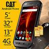 New CAT Caterpillar S41 32G Dual SIM IP68 Rugged Waterproof Unlocked 4G Phone