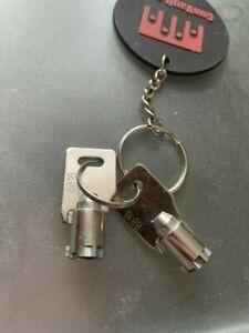 Replacement Key for lock number 8816 Gunvault Safes 2-Keys Gunvault safe key