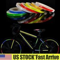 8M Reflective Stickers Hi Vis Viz Safety Car Motorcycle Bike DIY Reflector Tape