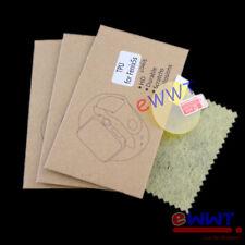 3x Soft TPU Screen Protector Film + Cloth for Garmin Fenix 5S 42mm Watch ZVSQ368