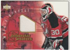 2001-02 Upper Deck - MARTIN BRODEUR Superstar Sweaters Jersey #SS-MB Devils
