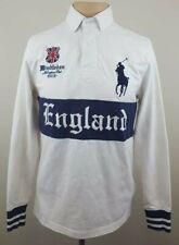 POLO RALPH LAUREN 2012 Wimbledon all England Club Horse Croquet Shirt Size Small