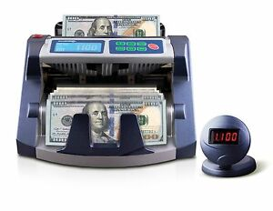 AccuBanker AB1100PlusUV Commercial Bill Counter + UV Counterfeit Detector