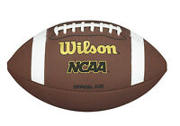 Wilson NCAA Supreme Football Composite Leather NEW Official Size Outdoor Ball