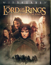 ~ THE LORD OF THE RINGS: The Fellowship of the Ring ~ DVD 2002 WS 2-DiscSet SAVE