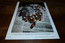 ELIZABETH TAYLOR - Publicité de magazine / Advert !!! COLLIER !!!