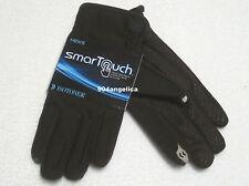 Isotoner Men's Brown Smartouch Gloves Touchscreen Medium NWT