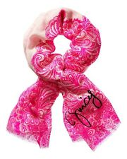 JUICY COUTURE LACE PRINT SCARF 100% WOOL NEW