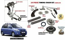 FOR HYUNDAI MATRIX 1.5 CRDI + VGT 2001->NEW TIMING CHAIN + GEARS + SPROCKET KIT