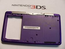 Nintendo 3DS  Housing Bottom inside Purple Shell Repair Part  sd slot cover