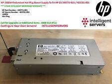 HP 1000 W fuente de alimentación redundantes de conexión en caliente para ajuste HP G5 399771-B21/403781-001