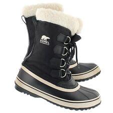 NEW Womens Black Sorel Carnival  Rain Winter  Snow Waterproof Boots  Size 9