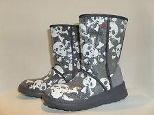 UGG Australia SHORT SKULL/BONES Sequin I HEART Boots Women Size:5or6 S/N1007243