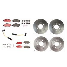 Mercedes Benz Dodge Sprinter 2500 Disc Brake Rotors, Pads And Sensors Brembo Kit