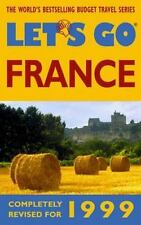 Let's Go 1999: France-ExLibrary