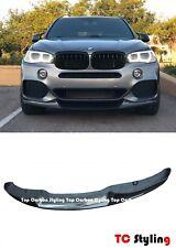 MP Style Carbon Fiber Front Bumper Center Lip For BMW F15 X5 M Sport