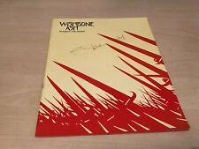 1981 Wishbone Ash Number The Brave Programme Signed