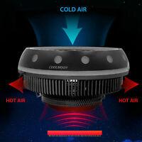 RGB LED CPU Cooler Fan Heatsink For Intel LGA1155 lz /775/AMD4/AM3+ AM2+/FM J1R9