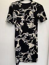 Topshop Print Mini Dress Size 10 .