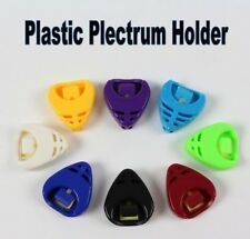 2 x Universal Guitar Pick/Plectrum Holder Various Colours