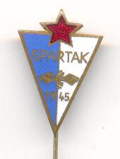 FOOTBALL SOCCER - FK SPARTAK - SUBOTICA  scarce pin badge from 1960