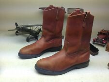 VINTAGE 1985 PECOS BROWN RED WING ENGINEER WESTERN COWBOY WORK BOOTS SIZE 13 D
