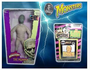 """The Mummy Universal Studios Monsters Signature Series 12"""" Fig & Sliding Puzzle"""