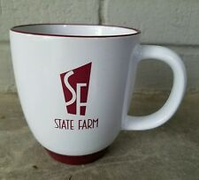 State Farm Insurance, Coffee Cup, Mug, Old Logo, Vintage, Double Sided