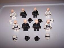 LEGO® STAR WARS minifigure storm trooper 75132 first order clone snow flesh lot