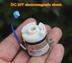 1pcs DC24V Electromagnetic clutch miniature Magnetic clutch DIY production