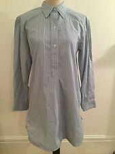 M&S Alexa Chung Pinstripe Oversized Shirt Dress Size 6