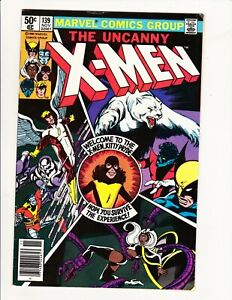 UNCANNY X-MEN #139 MARVEL 1980 KITTY PRIDE NEWWSTAND CLAREMONT BYRNE CLASSIC