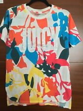 Juicy Couture Impreziosito Cristallo Multi Colore T SHIRT S