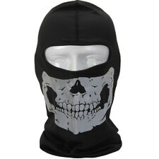 Reflective Skull Pattern Balaclava Face Cover Ghost CS Skateboard Halloween Hats