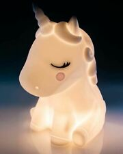 Unicorn Silicon LED Touch Lamp Night Light Variable Brightness Rechargeable Cute
